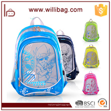 2016 moda barata saco de escola primária crianças mochila dos desenhos animados