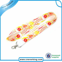 Bright Color Heat- Sublimation Custom Lanyard