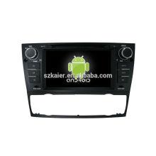 Горячая!автомобильный DVD с зеркальная связь/видеорегистратор/ТМЗ/obd2 для 7 дюймов сенсорный экран четырехъядерный процессор андроид 4.4 системы BMW3 (автоматическая)
