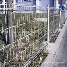 double ring wire mesh fence, double ring fence panel, double ring fence