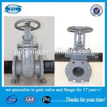 Обрабатывает все давление pn16 dn100 сталь Профессиональный запорный клапан производителя