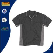 China Fabrik-kundenspezifisches Polyester-Arbeits-Polo-Hemd des Polyester-100% für Männer