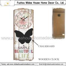 Custom Brand Name Wall Clock