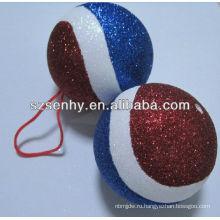 новая модель декоративного пенополистирола мяч/Рождество орнамент