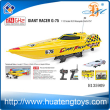 2.4 GHz 1:12 scale 550 type motor wireless remote control bait boat for sale with CE Test Report H135909