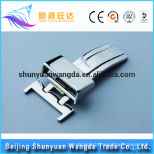 OEM serve alloy zinc watch strap buckle wholesale customzied watch clasp