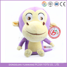Custom Stuffed Toy Cute Plush Monkey Doll for Girl