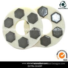 Diamond Wet Resin Bonded Sponge Polishing Pad