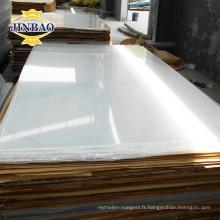 usine bon prix incassable 3mm plexiglass verre feuille