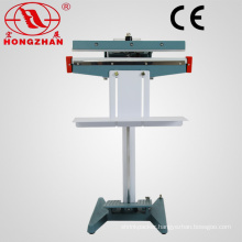 Electric Continuous Pedal Double Sealing Machine Equipment for Packing Bag PE Film Pouch Aluminum Foil and Kraft Paper