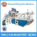Three layer pe cast stretch film making machine