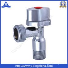 Válvula de ángulo de latón cromada de alta calidad de Y-King (YD-5017)