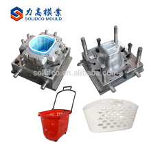 Factory Best Selling plastic vegetable shopping basket mould