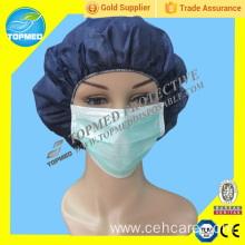 Non Woven Face Mask, Ties and Elastic Are Available