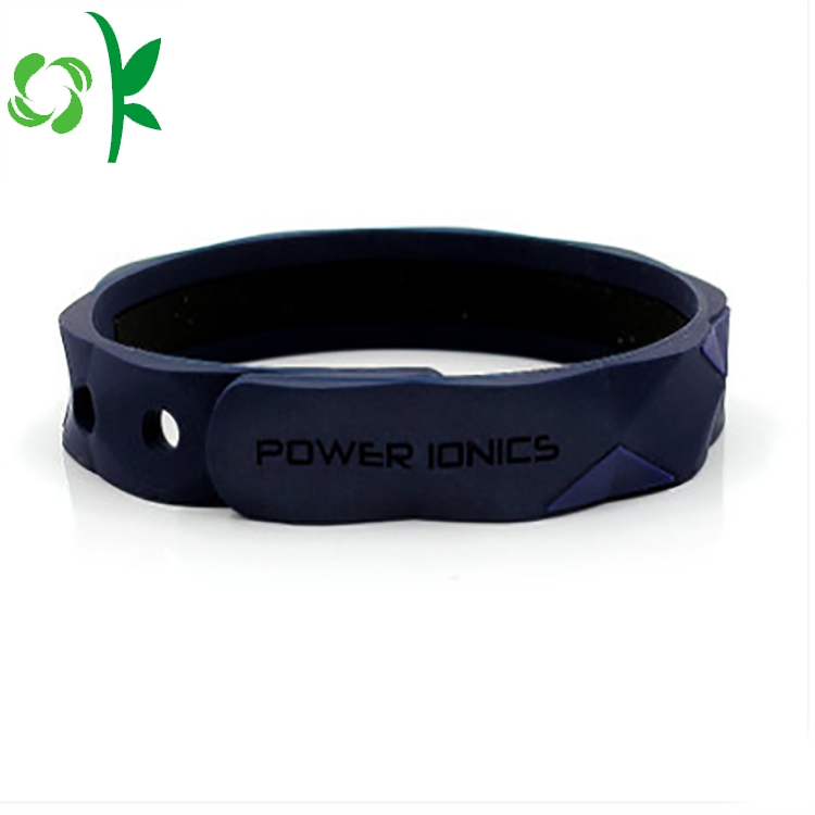 Deep Blue Power Silicone Bracelet 1