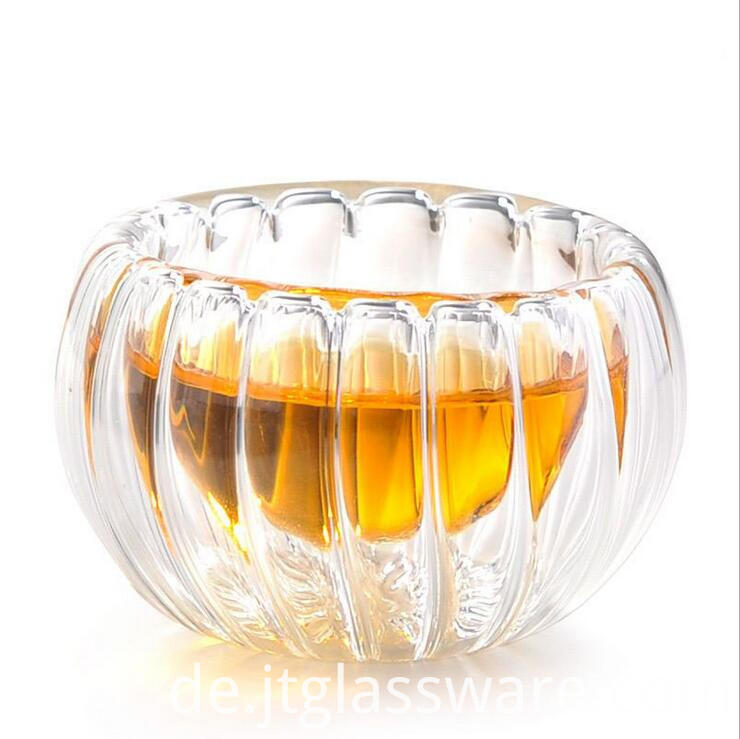 50ml Pumkin Tea Glass Cup
