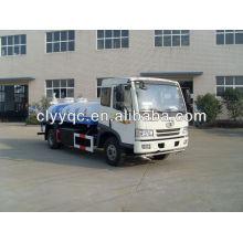FAW 4X2 water camión cisterna de agua 12CBM (12000liter) usado para la venta