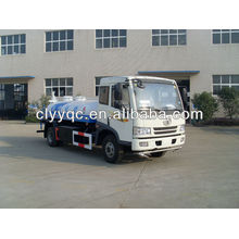 FAW 4X2 water sprinkler truck 12CBM(12000liter) used water tanker truck for sale