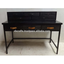 industrial metal drawer desk