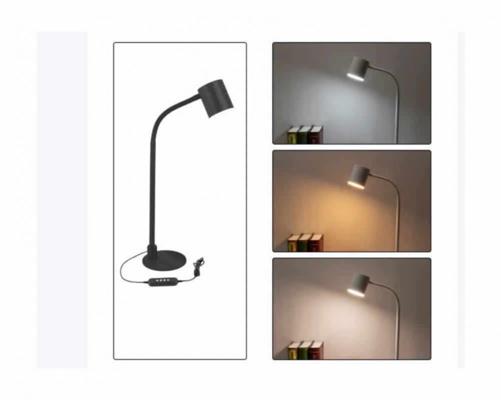 Led Table Lamp Black 5