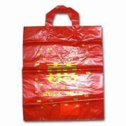 Food Grade Plastic Bag, Made of Plastic Material, Available in Various Colors, Sizes and Designs