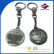 Fördernder Geschenk-Großverkauf-Schlüsselring-Band-Hersteller-stilvolle Schlüsselringe