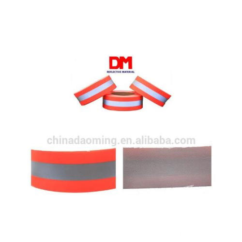 Cotton Flame Retardant Orange Warning Tape