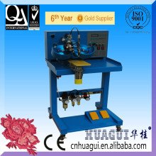 HUAGUI single head two color rhinestone transfer machinery used in print fabric