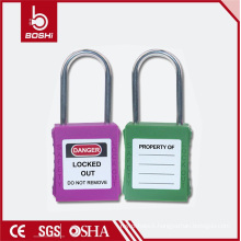 4mm Shackle Diameter Stainless Steel Thin Shackle Safety Padlock (BD-G71)