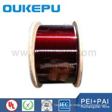 proveedores de alambre de cobre esmaltado plana descarga alta tensión 180C grado
