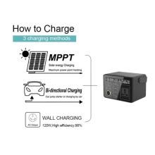 Tragbarer Solargenerator 300Wh