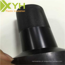 POM plástico de engenharia que processa as engrenagens das peças