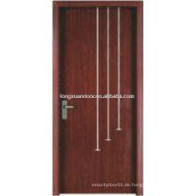 WPC PVC Toilette Schlafzimmer Bad Tür, PVC Bad Kunststoff Tür