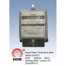 Single Phase Three Wire  Energy Meters