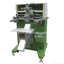 Impressora universal da tela lisa do cartão plástico de matéria têxtil da camisa do tubo T da pena
