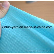 Tissus de vêtements Textile à la maison Tissu lycra coloré avec aspect brillant
