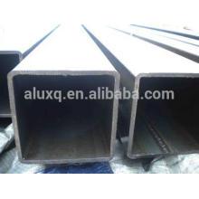 Tube carré en aluminium, T5 et T6, 6063, 6061 et 6060