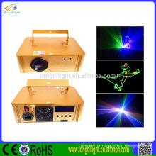 Luz laser de flash 4w RGB full-color luz laser / SD Card Light luz laser estágio