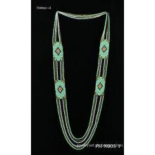 Natürlichen Samen handgemachte Halsband Halskette