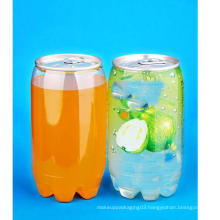 350ml Pet Can with Lid for Drinking