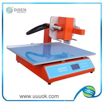 Digital hoja caliente que estampa la máquina para la venta