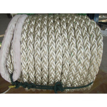 12-strand polyamide rope for ships and mining