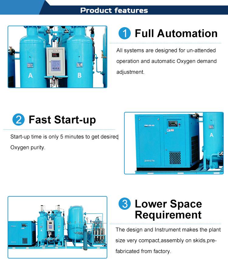 Oxygen Generator Machine Feature