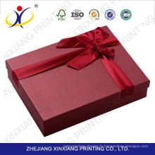 Emballage de boîtes de chocolats de luxe bon marché et recyclable