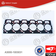 High quality cylinder head gasket A3000-1003031 for YC6A