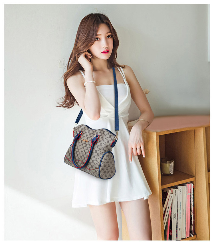 Genuine Wal Leather Lady Woman Handbag