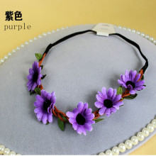 Floral Festival Wreath Headpiece Headband Headband (HEAD-358)