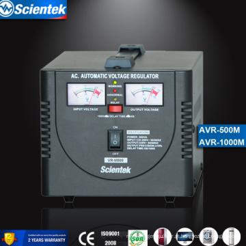 Tipo de relé Entrada 130 a 260V Saída 220V 500va Regulador de Voltagem Automático