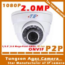 bus cctv camera plastice dome IP camera 720P 960P 1080P