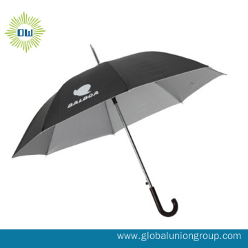 Auto Open Polyester Promotion Advertising Straight Umbrella